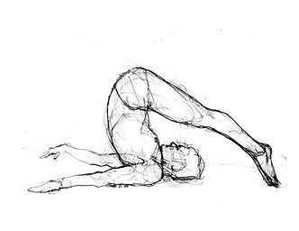 Dibujo Pilates Roll Over
