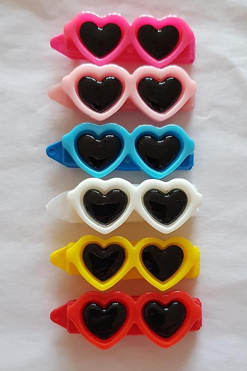4.5 cm Clips with Sun Glasses