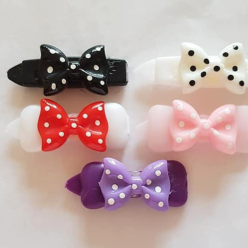 4.5 cm Clips with Bows