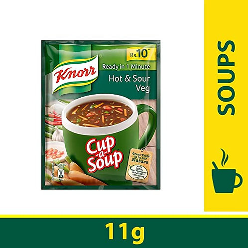 KNORR  CUP SOUP HOT & SOUR 11G