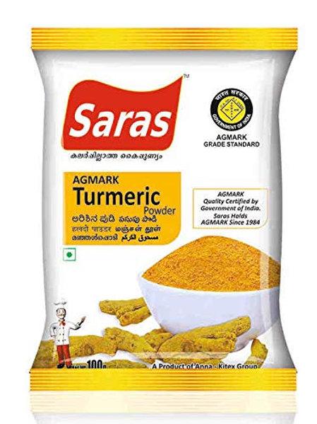Saras Turmeric Powder 100gm