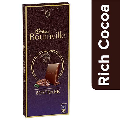 CADBURY DAIRY MILK BOURNVILLE RICH COCOA DARK 90/-