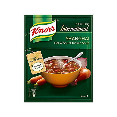 KNORR SHANGHAI HOT & SOUR CHICKEN SOUP