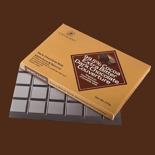 COCOACRAFT DARK CHOCLATE 210G EXTRA BUTTER