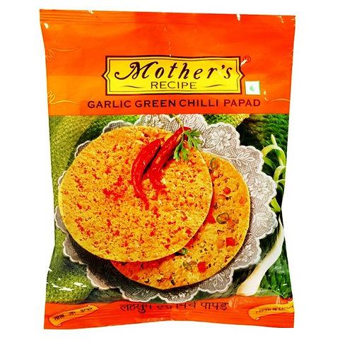 Mothers Garlic Green Chill Pappad 200g