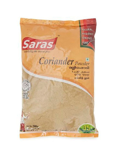 SARAS CORRIANDER POWDER 500 GM