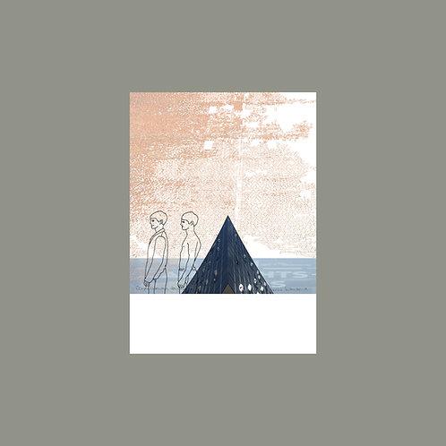 "Postkarte ""Die Pyramide 2"" (2er Set)"