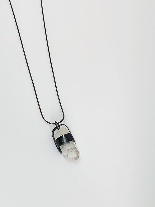 Quartz Bell Necklace
