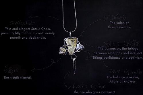 Medieval Triad Necklace