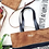 Thumbnail: Maya Tote Bag Black and Caramel