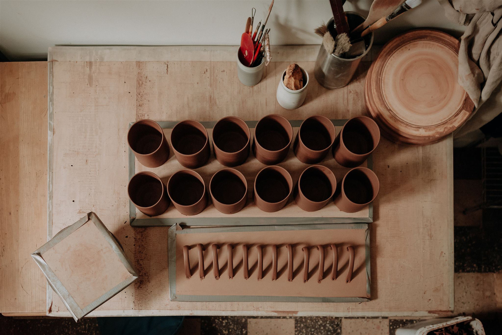 the mug making process
