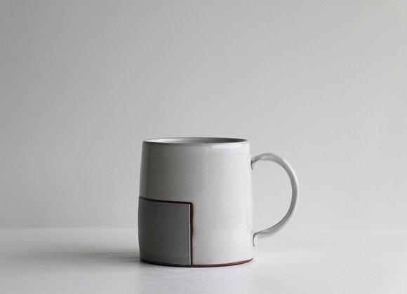 Grey square mug
