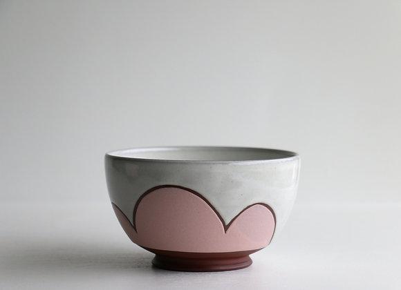 Pink cloud bowl