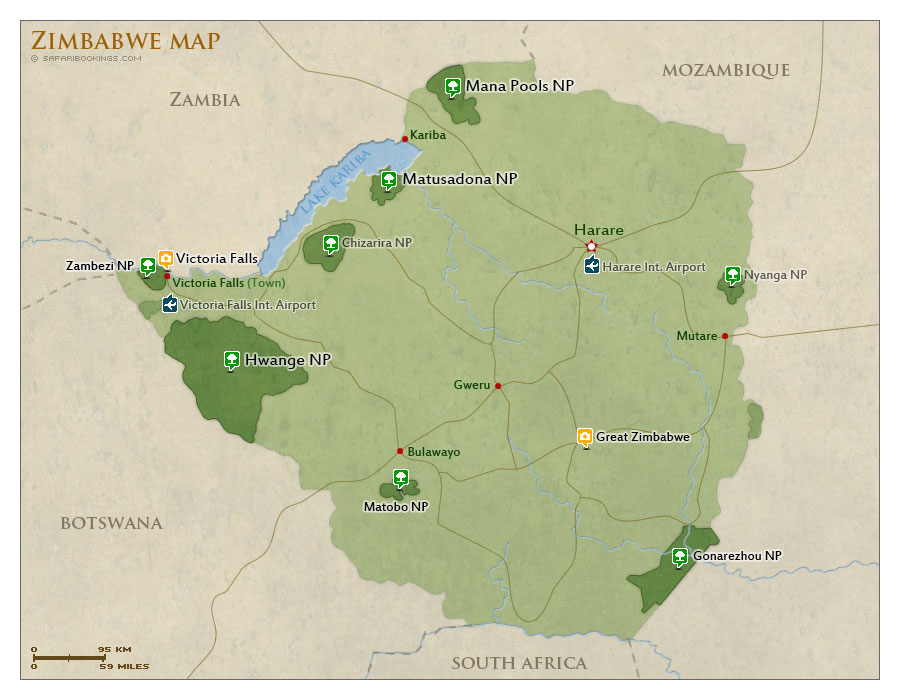 map-of-zimbabwe