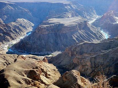 Fish River canyon, Namibie