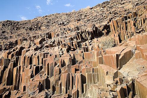 Tuyaux d'orgues, Namibie