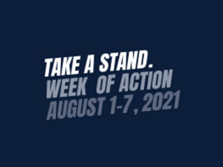 API to Host Week of Action, August 1-7