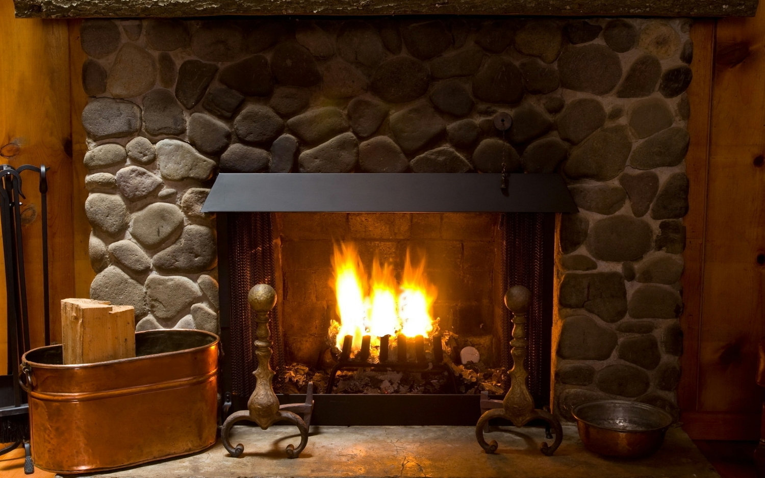 Wood Burning System Cleaning & Inspect