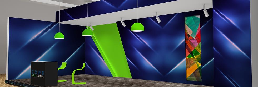 LED vestavěná 100x250