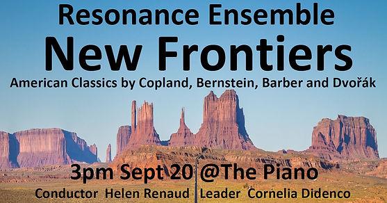 Resonance Online Promo graphic New Front