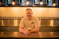 Taps Gowler House Vancouver WA Owner with Beer