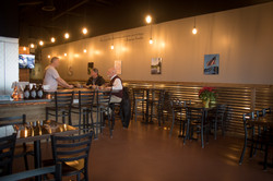 Taps Growler House Interior Customers
