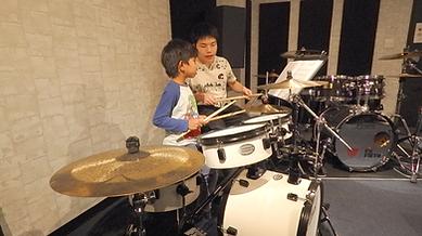 体験レッスン 子供 ドラム 神戸