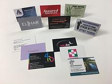 Business cards bury st Edmunds