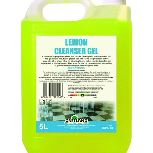 Greyland Lemon Cleanser Gel