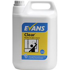 Evans Clear Glass Cleaner 5ltr