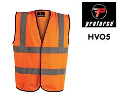 HV05 PROFORCE Hi Viz Waistcoat