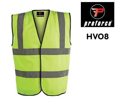 HV08 PROFORCE Hi Viz Waistcoat