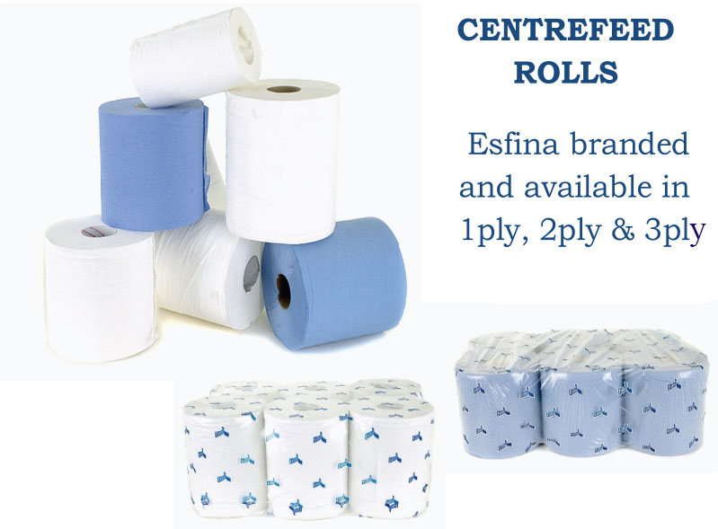 Centre Feed Toilet Rolls