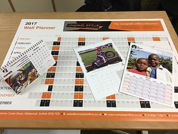 Calendar Printing Bury St. Edmunds