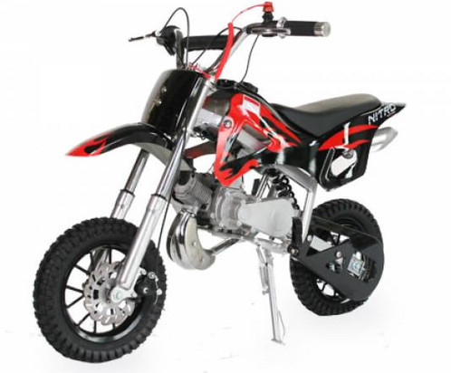 ds67 dirtbike 49cc moto enfant france nitromotors. Black Bedroom Furniture Sets. Home Design Ideas