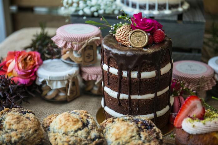 Layered-chocolate-cake