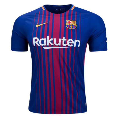 uk availability cbce3 2ecfb Nike Messi Barcelona Home Jersey 17/18