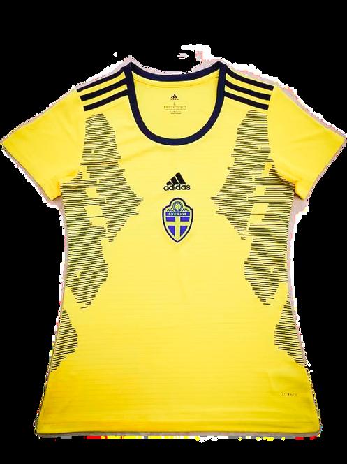 huge selection of 6bd42 7cdd5 SWEDEN WOMENS SOCCER JERSEY 2019