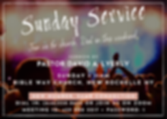 Sunday Service - Dial In Horizontal (2).