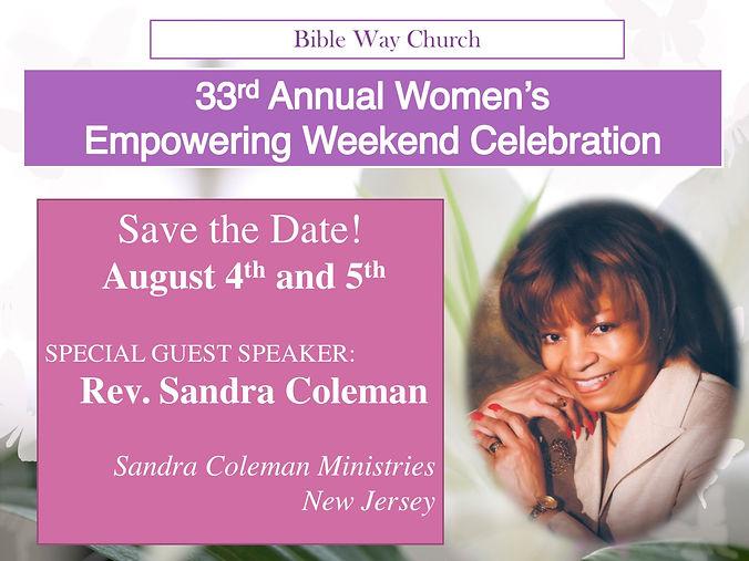 Women's weekend celebration 2018 FLYER.j