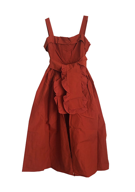 [archive sale] 58°C dress / red