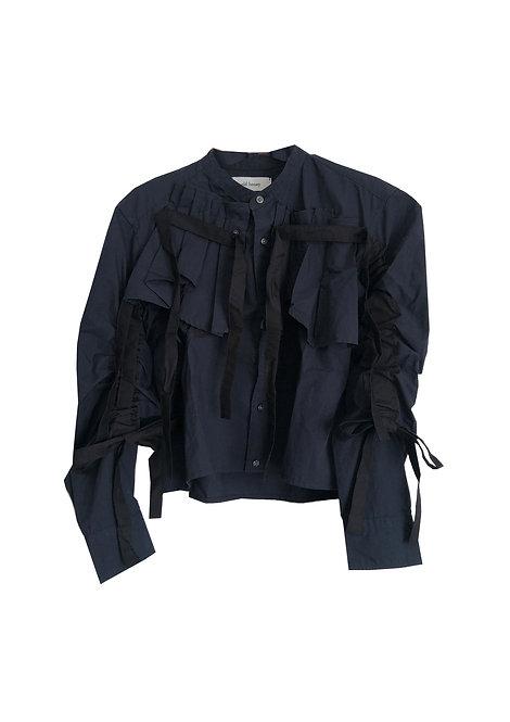 [archive sale] 63°C shirt / navy