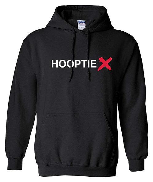 HooptieX Black Hoodie