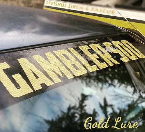 Gambler 500 Windshield Banner / Rocker Panel Decal