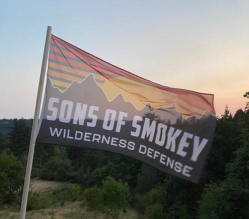 Sons Of Smokey Wilderness Defense  Flag