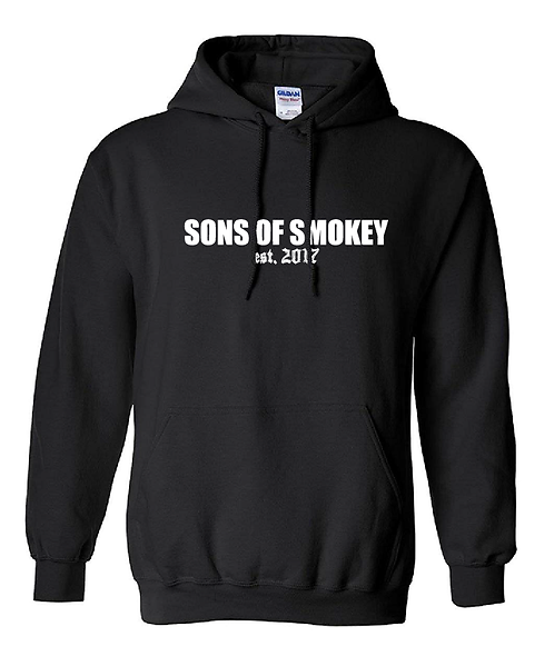 Sons Of Smokey Black Hoodie