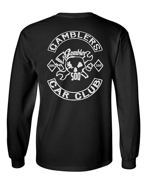 Gamblers Car Club Long Sleeve Shirt