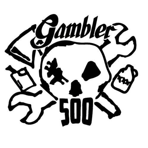 Gambler 500 Fender Decals (sold in pairs)