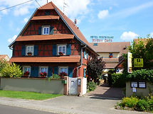 Facade du Ritter'Hoft à Morsbronn-les-Bains