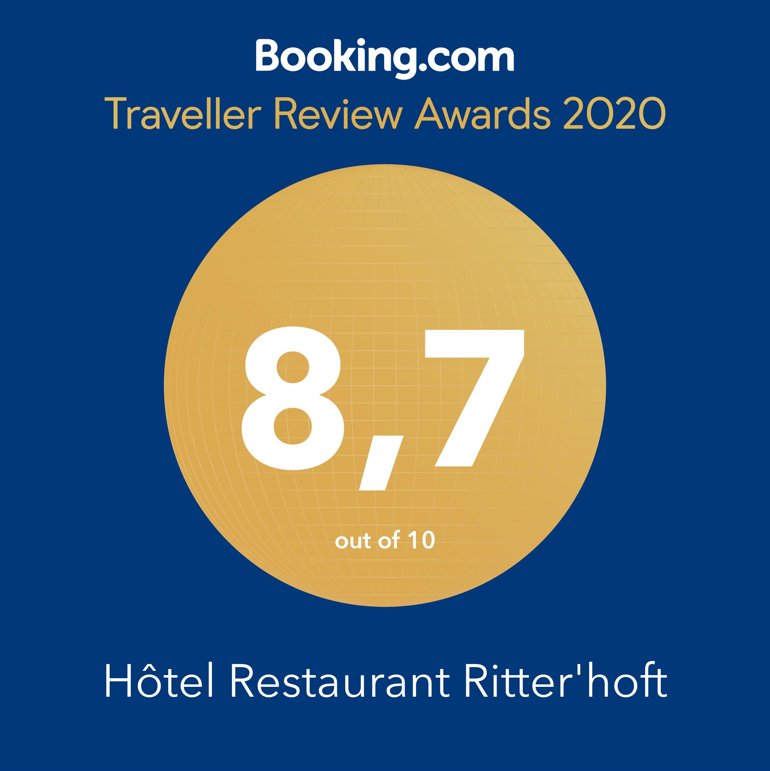 Note 2020 de Booking